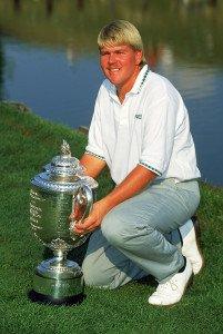 John Daly nach seinem Sieg der PGA Championship. (Foto: Getty)