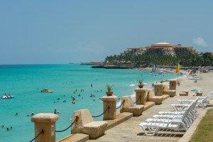 Touristische Hochburg Varadero Beach.