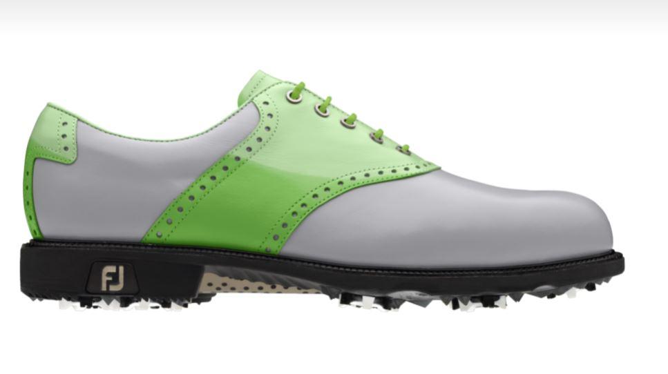 Dieser Schuh hat Maximilian Kieffer am besten gefallen. (Foto: FootJoy)