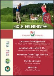 Der Golferlebnistag im GC Augsburg. (Foto: GC Augsburg)
