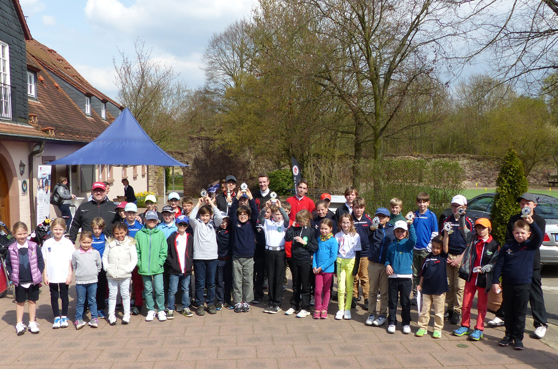 Nachwuchs-Golfturnier im GC  Neuhof