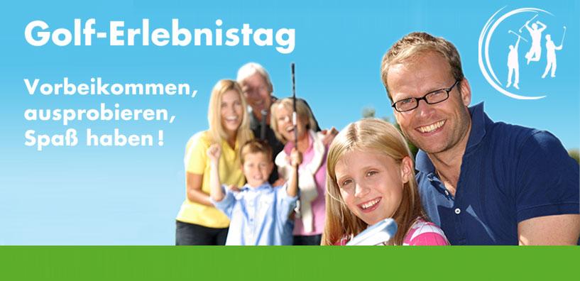 Golf-Erlebnistag für Nichtgolfer im Golf-Club Neuhof am 1. Mai