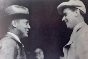 Geschäftspartner: Golfstar Bob Jones (l.) und Börsenmakler Clifford Roberts. (Foto: Michael F. Basche)