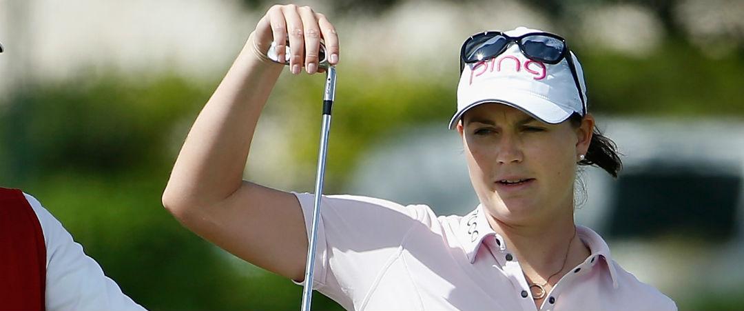 Kein guter Tag für Caroline Masson bei der Lotte Championship. (Foto: Getty)