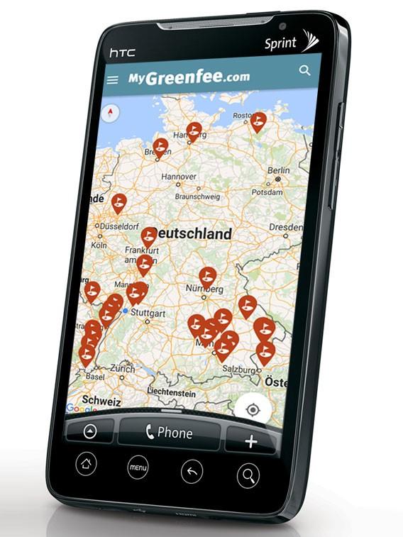 MyGreenfee.com gibt es jetzt auch als Android App. (Foto: MyGreenfee.com)