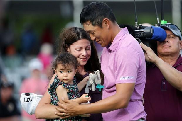 Wells Fargo Championship James Hahn und Familie