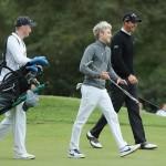 Niall Horan und Nicolas Colsaerts beim Pro-Am der BMW PGA Championship (Foto: Getty)