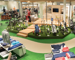 Der Verkaufsraum einer Golf House Filiale. (Foto: Golf House)