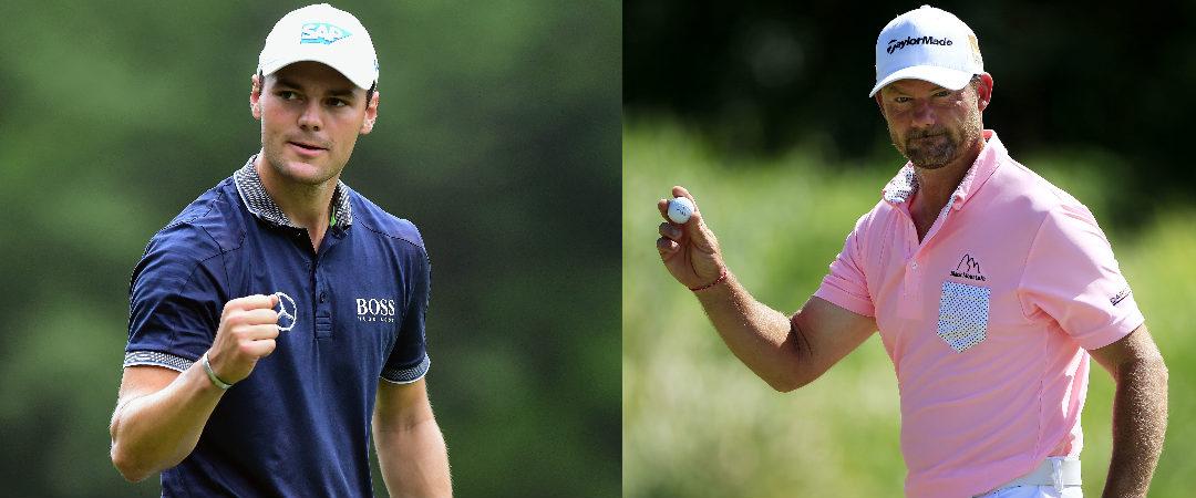 Alex Cejka und Martin Kaymer wollen bei der Wells Fargo Championship jubeln.(Fotos: Getty)