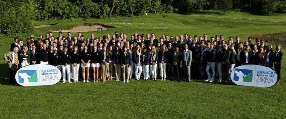 Golfanlage Ullersdorf -Herren-Mannschaft - auf Platz 1