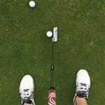 Golf Post User Kai testete die Kramski Putting App auf Herz und Nieren. (Foto: Privat)