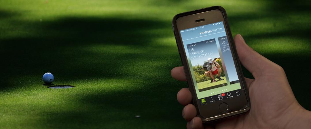 Die Kramski App soll helfen, die Anzahl der Putts zu verringern. (Foto: Getty / Screenshot Kramski App)