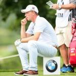 Ratlosigkeit machte sich während der zweiten Runde der BMW International Open bei Marcel Siem breit. (Foto: BMW Golfsport)