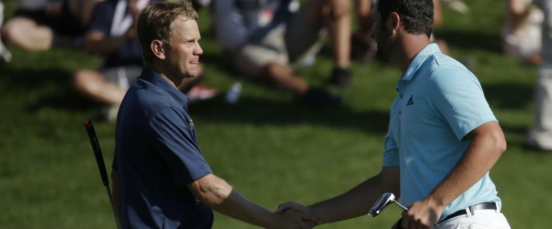Bei der Quicken Loans National stehen sich Billy Hurley III und Jon Rahm gegenüber. (Foto: Getty)