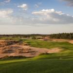 Waste Areas wohin man schaut im Sand Valley G&CC. (Foto: sandvalley.pl)