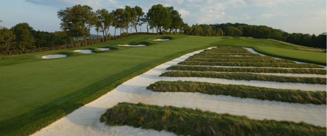 Der Kurs des Oakmont Country Club bringt selbst die besten Spieler regelmäßig zur Verzweiflung - und genau deshalb ist er bei den Ausrichtern der US Open so beliebt. (Foto: Getty)