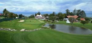 Der Golfplatz in Evian Les Baines. Vielleicht machen THomas Müller und Co. mal einen Abstecher dorthin? (Foto: Getty)