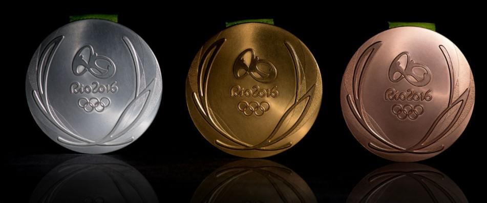 Diese Medaillen werden bei den Olympischen Spielen 2016 auch an die drei besten Golfer und Golferinnen gehen. (Foto: Getty)