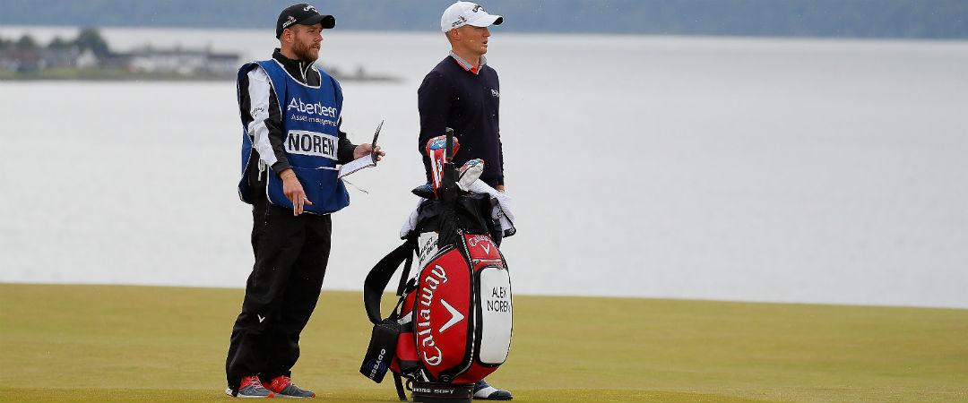 Alex Noren holt sich den Sieg der Scottish Open mit Callaway. (Foto: Getty)