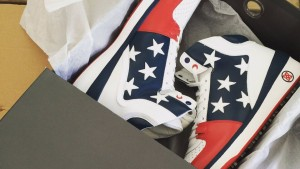 Bubba-Schuhe made in/by USA (Foto: twitter.com/GOLF.com)