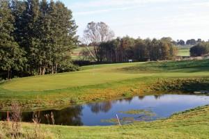 Die Golfanlage im Resort am Balmer See.