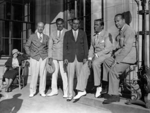US-Open-Sieger von 1931 Billy Burke, in der Mitte. (Foto: Getty)