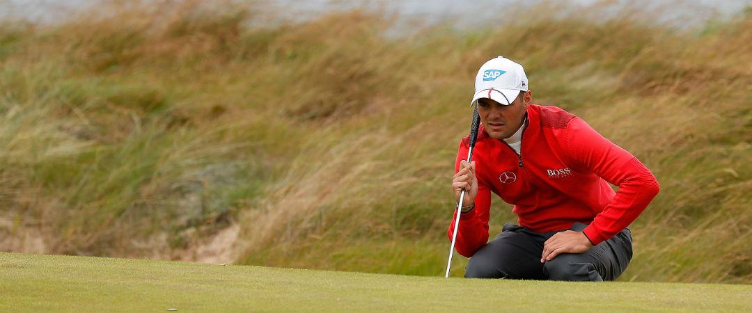 Mit ruhiger Hand an der windigen Küste: Martin Kaymer spielte eine bogeyfreie zweite Runde bei der Scottish Open. (Foto: Getty)