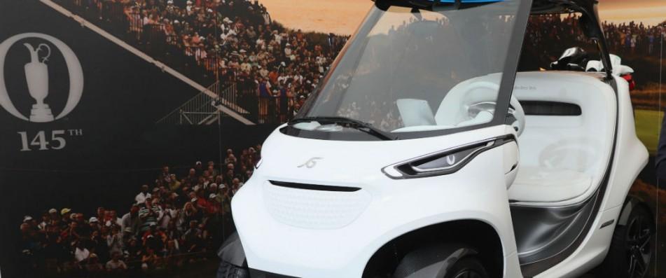 Mercedes-Benz präsentiert am Rande der 145. Open Championship das neue Golf Car.