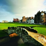 "Die ""Swilcan Bridge"" in St. Andrews. (Foto: Allianz)"