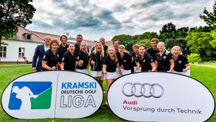 Der G&LC Berlin-Wannsee gewann den vierten Spieltag der Kramski DGL im Stechen. (Foto: DGV/ Tiess)