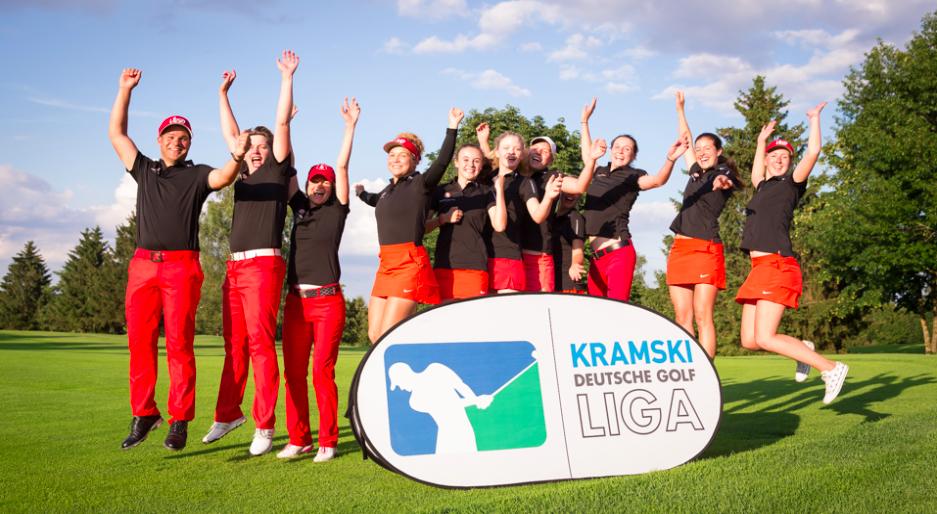 Nach einem gelungenen Spieltag machten die Gastgeberinnen aus München Freudensprünge. (Foto: Stefan Heigl)