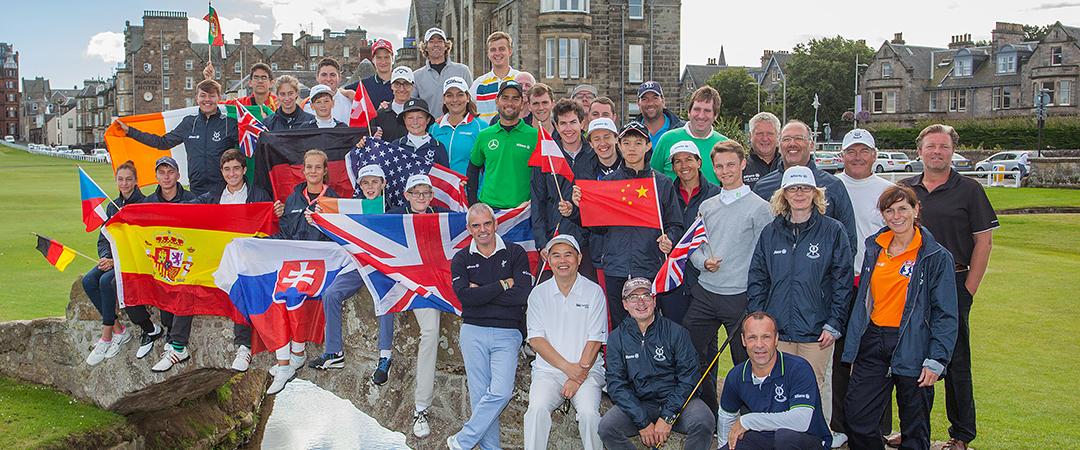 Allianz Golf St Andrews Links Partnerschaft und Allianz St Andrews Golfcamp