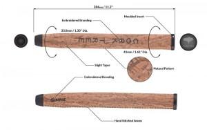 Die technischen Daten des Cork Tree Puttergriff im Überblick.