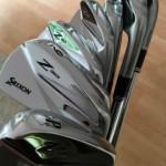 Jungfräulich und glänzend - die frischen Srixon Z965 Blades