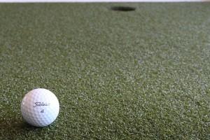 Das künstliche Grün des 4ProGo ist vom DGV zertifiziert. (Foto: Golf Post)