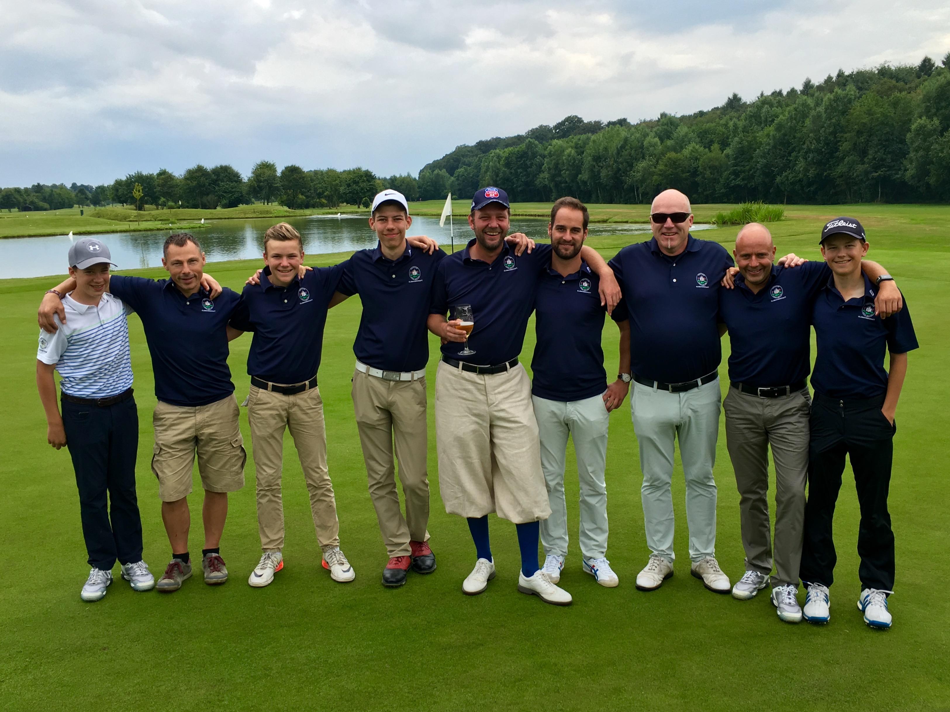 Golfclub Haus Bey steigt in die Oberliga auf