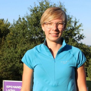 Anka Lindner, 28, greift nach einem Kreuzbandriss beim Ladies European Masers wieder an. (Foto: Golf Post)