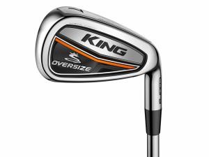 Die neuen King Oversize Eisen von Cobra Golf. (Foto: Cobra Golf)