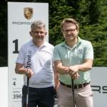 Für Golf Post am Start: Lorenz Gräf (l.) und Matthias Gräf. (Foto: Porsche)
