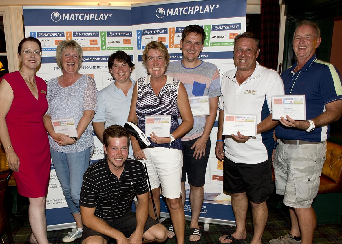 Die Gewinner der Region Nord/Ost. (Foto: Garmin Matchplay)