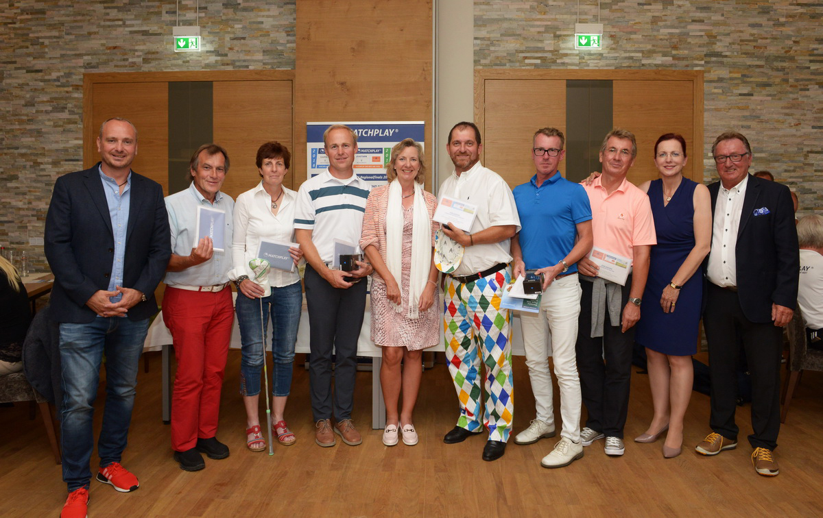 Die Gewinner der Region West: (Foto: Garmin Matchplay)