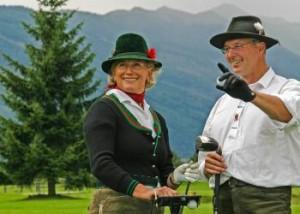 Eine Golfsafari der besonderen Art. (Foto: Romantikhotel Wastlwirt)