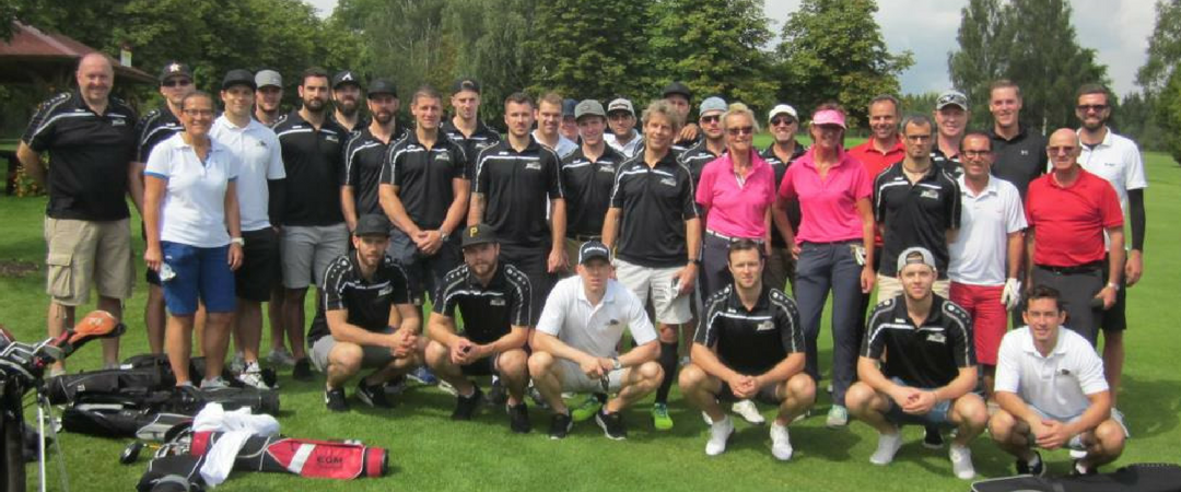 AEV Panther-Profis zu Gast im Golfclub Augsburg