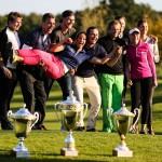 Die Sieger der DHM 2016 samt Pokalen. (Foto: Markus Venzl)