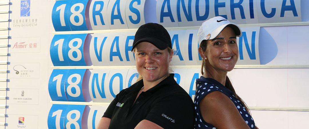 Leticia Ras Anderica Sanya Ladies Open 2016