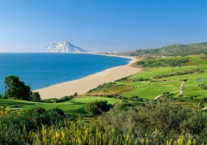 Blick auf Gibraltar (Foto: Alcaidesa Links Golf Resort)