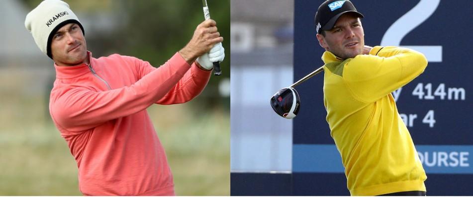 Martin Kaymer und Florian Fritsch spielten am dritten Tag beide eine 65 - aber auf unterschiedlichen Plätzen. (Fotos: Getty)