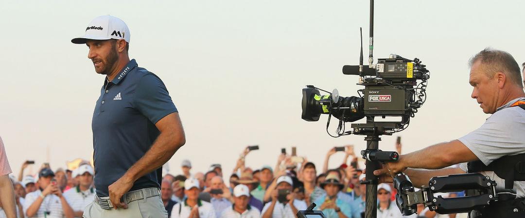 Im Fokus der Linse: Dustin Johnsons Triumph bei der US Open kann man nun als Dokumentation bestaunen. (Foto: Getty)