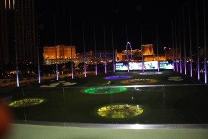 "Direkt neben dem Strip in Las Vegas findet man die Event-Driving-Range ""Topgolf"". (Foto: Golf Post)"
