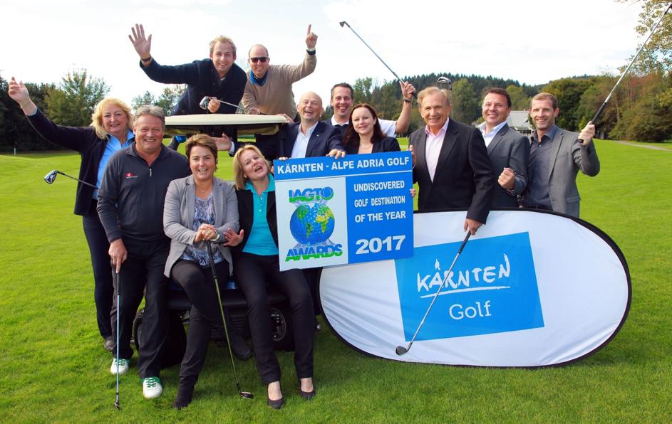 Das Team der Arbeitsgruppe Kärnten freute sich über die internationale Auszeichnung. (Foto: kaernten.at)